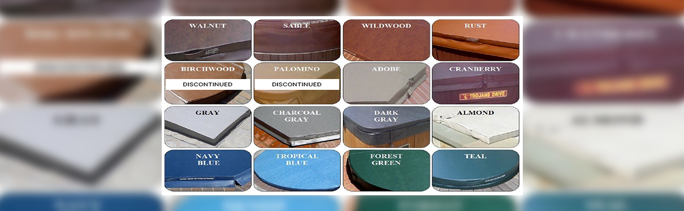 Spa Cover Colors