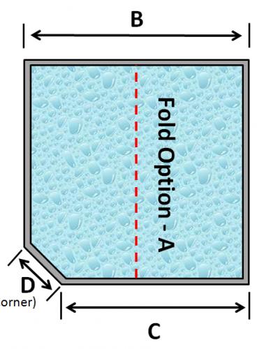 07 Square Spa 1 Cut Corner Fold Option A