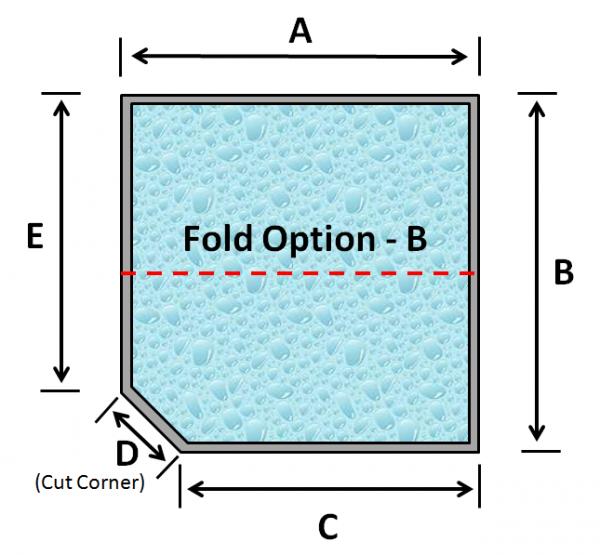 07 Square Spa 1 Cut Corner Fold Option B