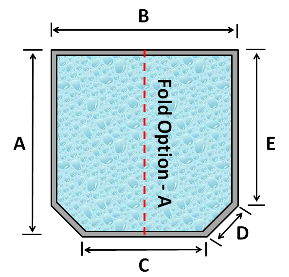 09 Square Spa 2 Cut Corners Fold Option A