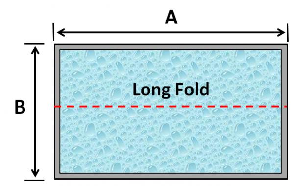 11 Rectangle Spa Long Fold